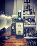 Gary Chaplin Gin. Hunters Apple Juice